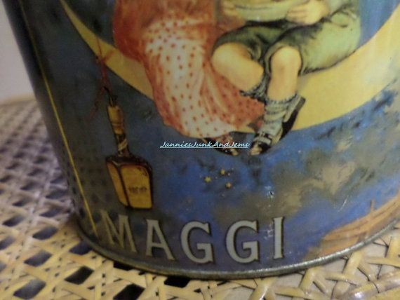 MAGGI Confectionery Tin by TinTack on Etsy, €25.00