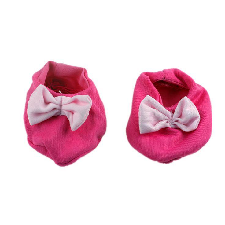 Розовый Bowknot Обувь Куклы Одежда подходит 18 дюймов American Girl, 43 см Baby Born zapf, дети лучший Подарок На День Рождения N305 #CLICK! #clothing, #shoes, #jewelry, #women, #men, #hats, #watches