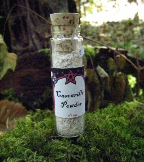 Cascarilla Powder Protection Peace and Spell por SarahAnneLawless