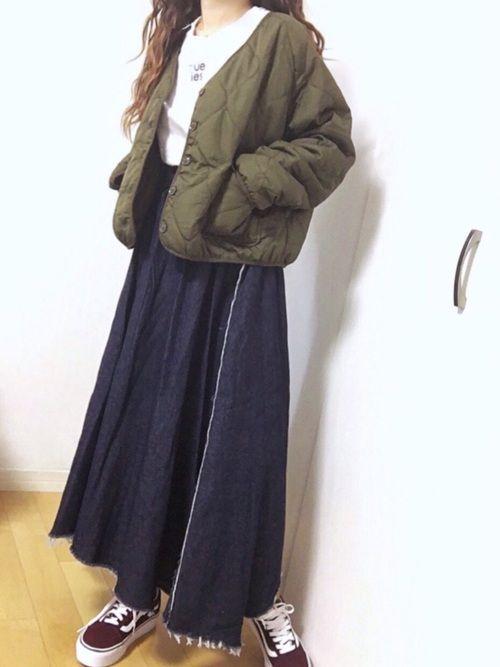 しまむら キルティングジャケット 鬼カワ💖  2900円でした\(´ω` )/♡︎