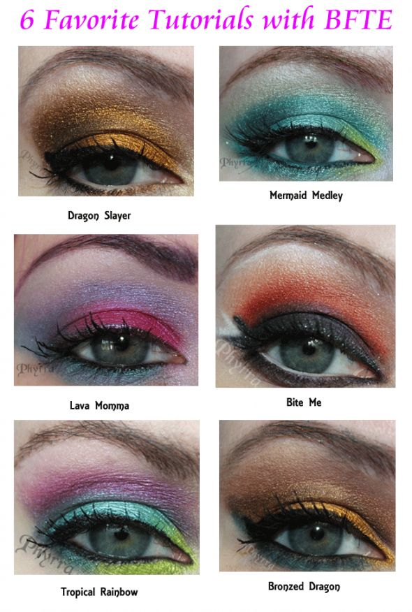 6 Amazing BFTE Cosmetics Tutorials via @Phyrra Nyx