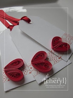 37 best Quilled Gift Tags images on Pinterest  Paper quilling