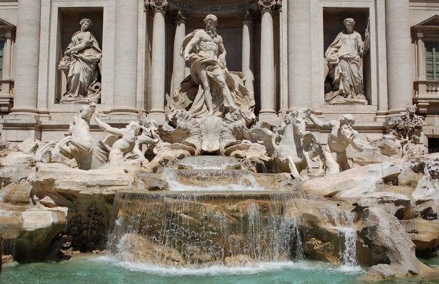 Фонтан Треви-мелодичный голос Рима