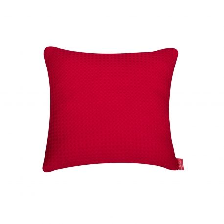 Christmas Pillow #pillow #soft #fuzzy #warm #red #christmas #present #interiordesign #homedeco #joy #charity #donation