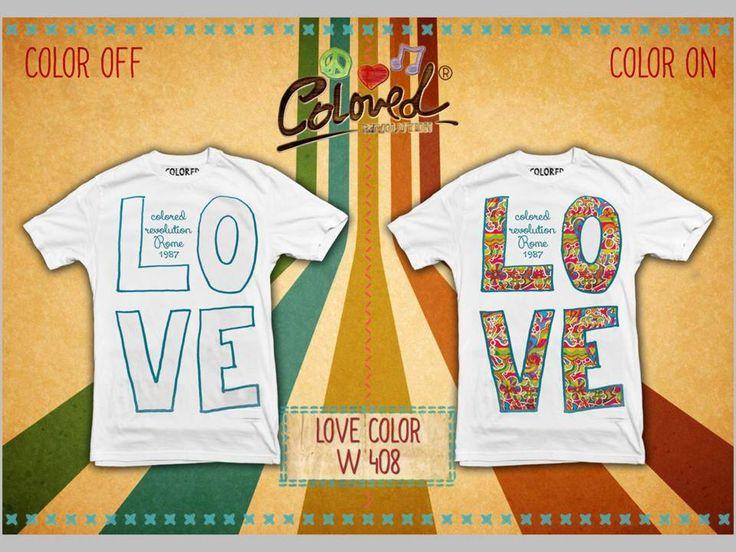 #fallwinter #coloredrevolution #love #t-shirt