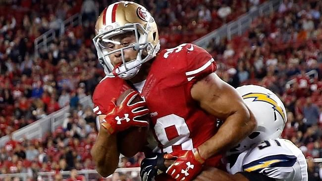 "JARRYD Hayne is the most ""fun"" story in the NFL right now, yet his feel-good tale puts added pressure on the 49ers to pick him for games."