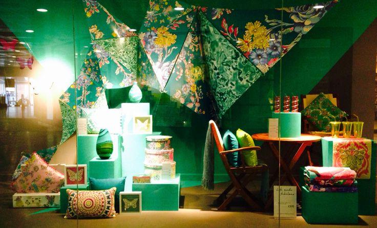 Debenhams visual merchandising window display home product