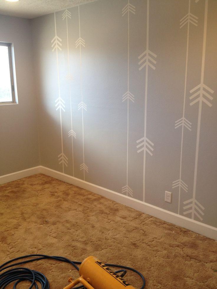 Dark Grey Bedroom Accent Wall