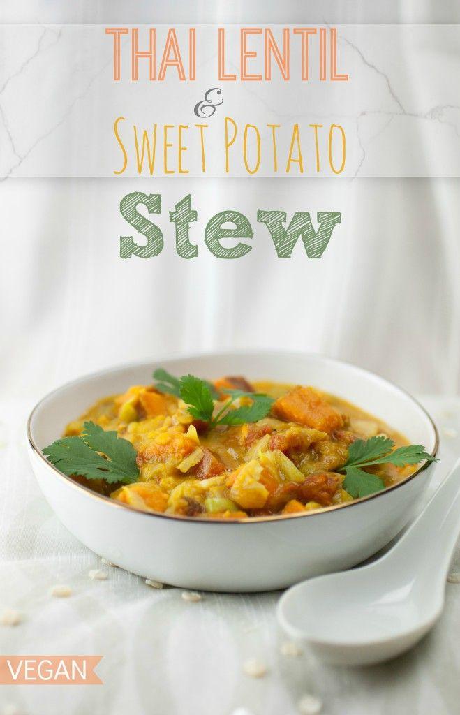 Thai Lentil & Sweet Potato Stew | Produce On Parade