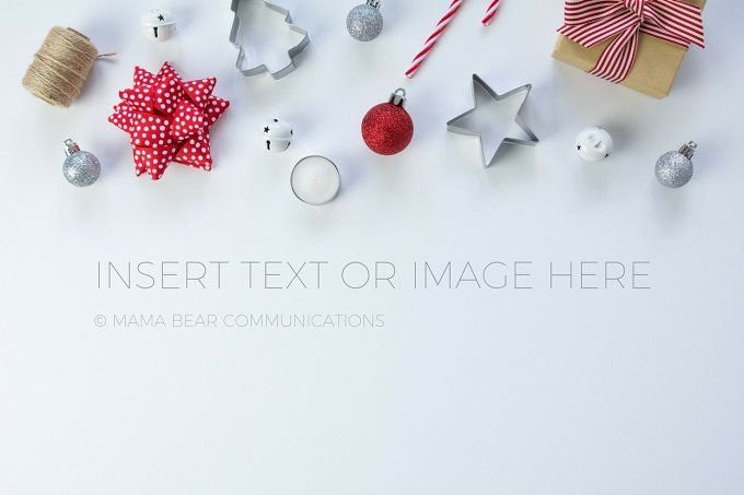 Christmas Gift Wrapping Stock Photo by mamabearcomms on @creativemarket