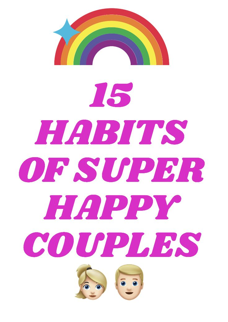 15 hábitos de casais super felizes 👫   – Love