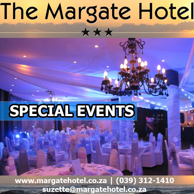 Planning a special event, Margate Hotel should be first on your contact list #SPECIALevents http://buff.ly/1jAta78