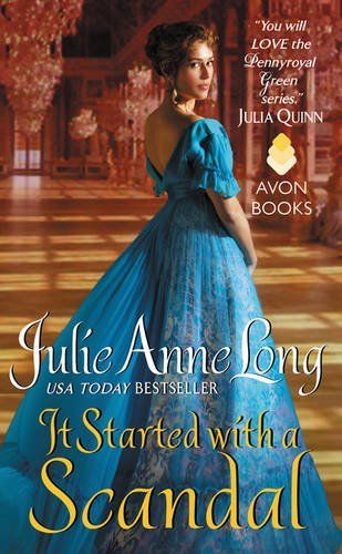 It Started with a Scandal: Pennyroyal Green Series by Julie Anne Long http://www.amazon.com/dp/0062334824/ref=cm_sw_r_pi_dp_aFRNvb0SP5R0E