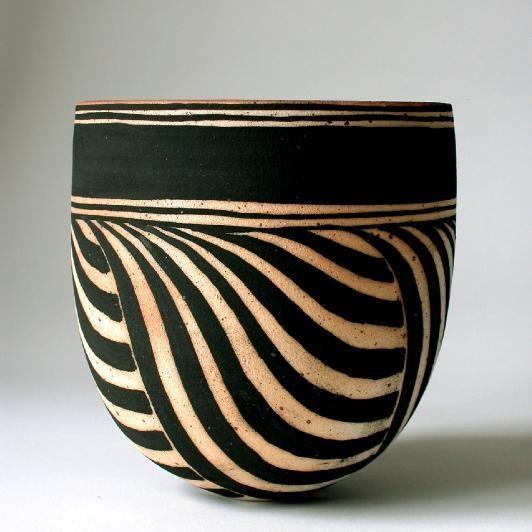 Ceramic bowl by Beate Andersen                                                                                                                                                                                 Plus