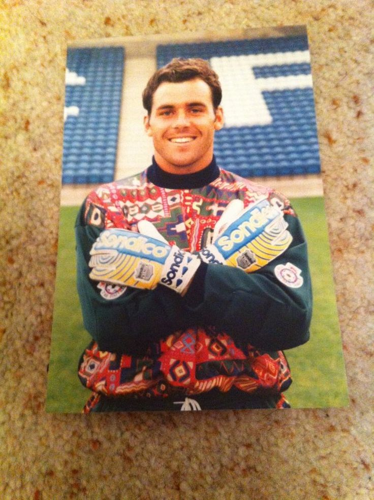 Neil Edwards Stockport County Goalkeeper Footballer  Signed Picture/Autograph