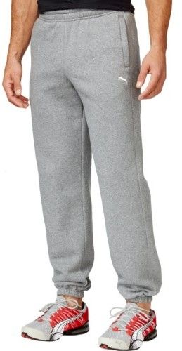 Puma Mens Cuffed Fleece Lounge Pants