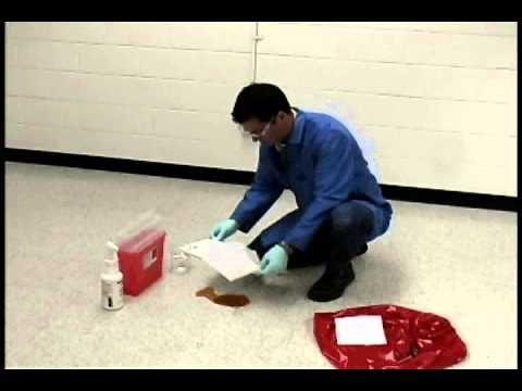 Bloodborne Pathogens: Body Fluid Spill Cleanup Procedure