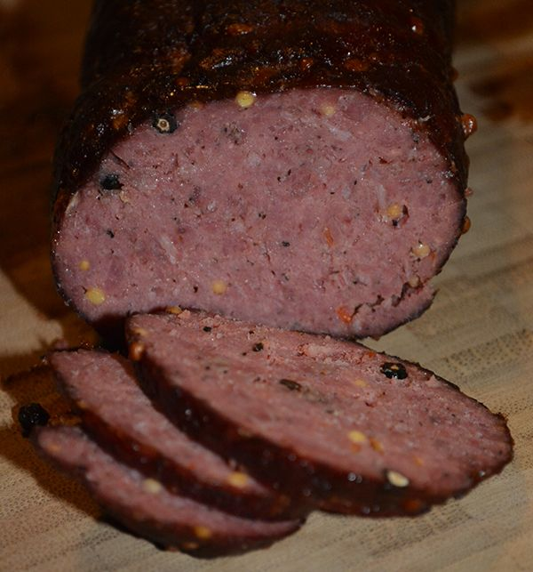 Venison Summer Sausage Recipes For Smoker