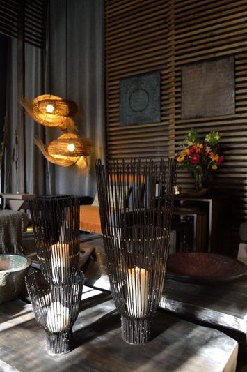Vento wicker lamp -CasaCor Chile – Katherine Rahal