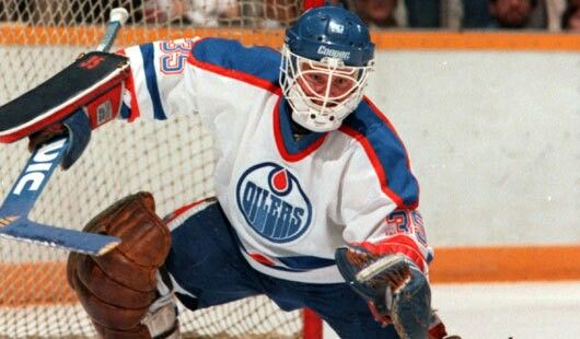 Andy Moog | Edmonton Oilers | NHL | Hockey