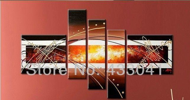 Ucuz Handpainted 5 adet/set büyük tuval sanat ucuz resimleri modern ev dekorasyon soyut duvar sanatı satılık yağlıboya, Satın Kalite resim ve hat sanatı doğrudan Çin Tedarikçilerden:  Karşılama! Alışveriş keyfini! 100% elle boyanmış yağlıboya tuvalHiçbir kare, atılır kadar nakliye içi