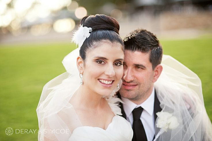 Romantic wedding couple wrapped in the Brides veil  Location ~ Kings Park, Perth Photography by DeRay & Simcoe