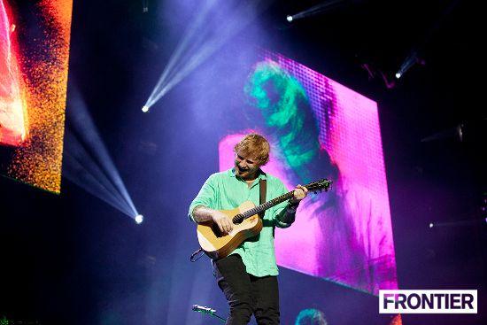 Ed Sheeran at nib Stadium, Perth | December 2015 | Photos | Frontier Touring Australia & New Zealand