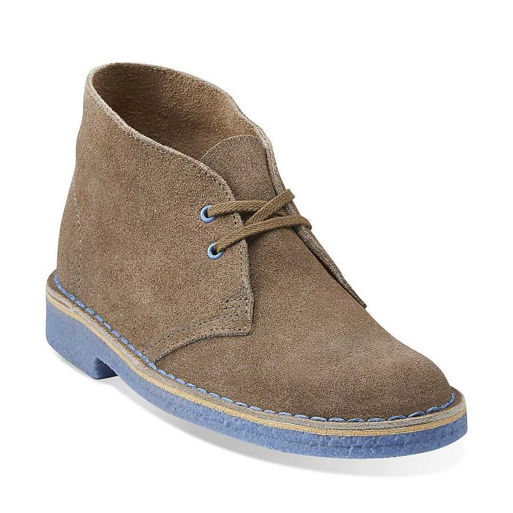 Lastest Navy Blue Desert Boots For Women
