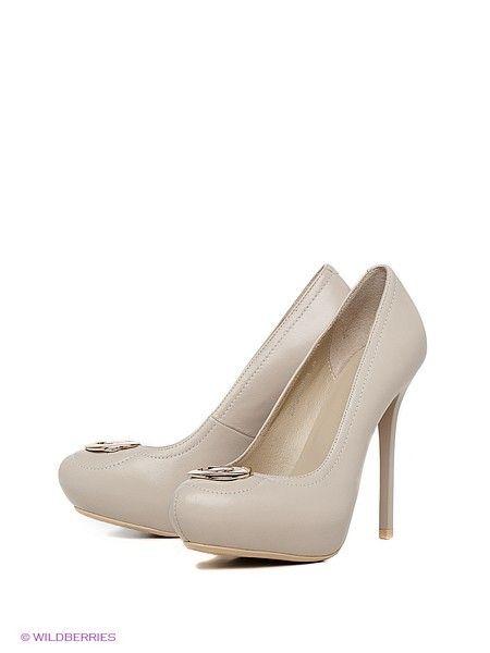 Туфли на каблуке Calipso кожа 3720 руб. с подкладкой из натуральной кожи с кожаной подошвой