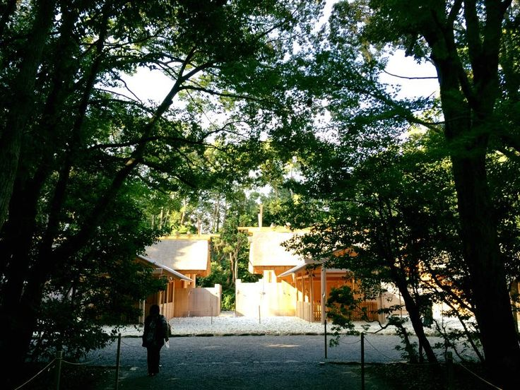 Grand Shrine of Ise, Japan ー 伊勢神宮