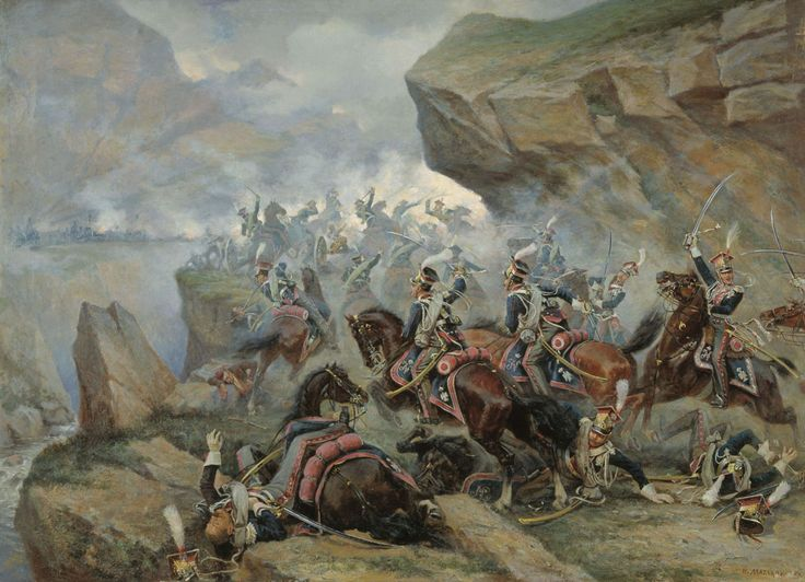Polish Lancers at Somosierra
