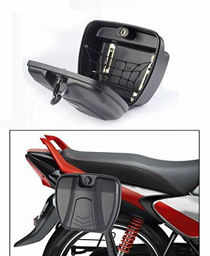 Accedre Bike Stylish Side Luggage Holder With Lock||  Accedre Bike Stylish Side Luggage Holder With Lock INR 1700.00 View Details  13 of 13 people found the following review helpful   At last a Good looking storage solution!   By  Areekal - See all my reviews  Verified Purchase(What is this?)  This review is from: Accedre Bike Stylish Side Luggage Holder With Lock  A good pick for those who look for a compact storage solution for bikes. The size is only just enough for your Riding jacket to…