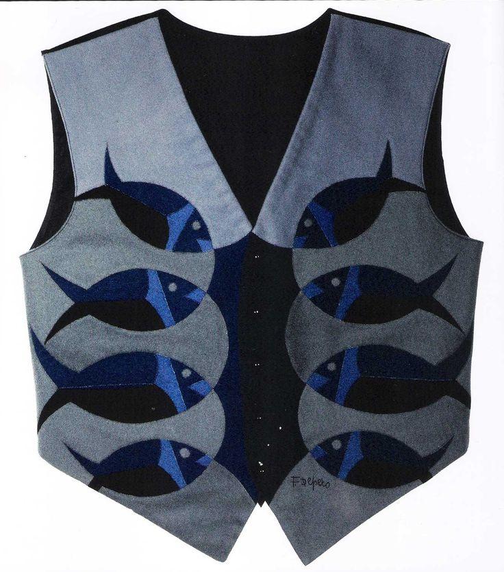 FORTUNATO DEPERO Futurist waistcoat for F. T. Marinetti (first version), 1923-24