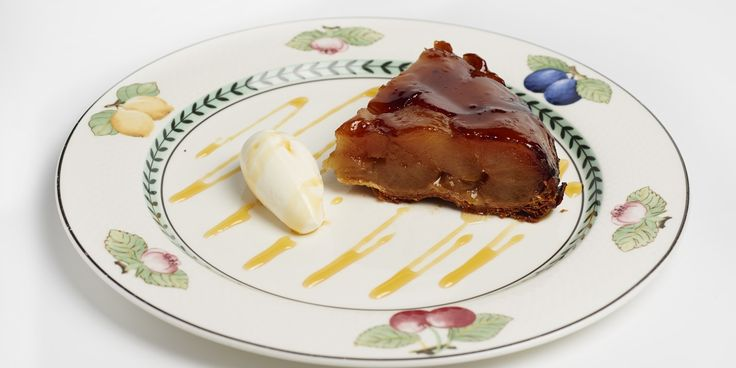 The Galvin brothers' version of a tarte Tatin is as good as it gets, packed with lush caramelised apples and served with crème Normande