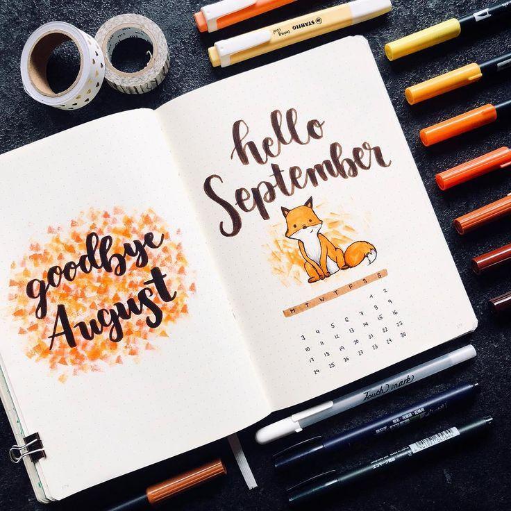 • Der August wird bald vorüber sein, also ist dies meine erste Strecke für September … – #August #September #spread