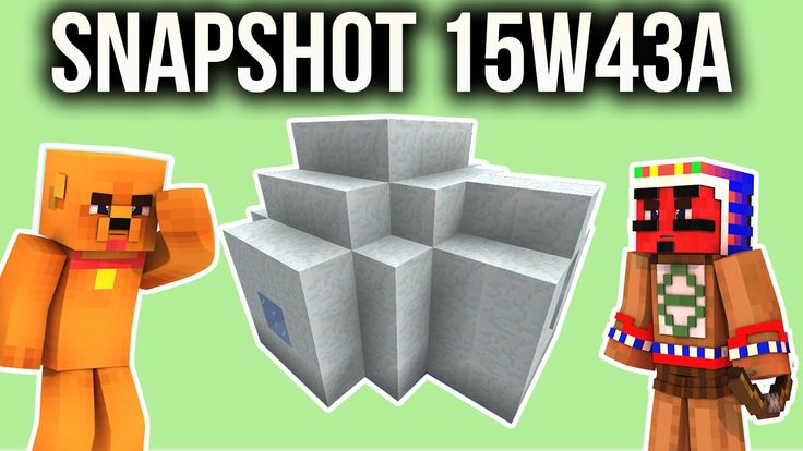 Minecraft - IGLU SEED SNAPSHOT 15W43A MINECRAFT 1.9