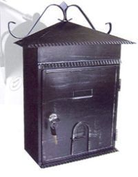 Mailboxes: Large Locking Asian Design Home Mailbox Antique Finish by A1 Quality Safes. $59.95. These locking rain resisstant home mailboxes are made to keep your mail safe. With a strong steel body and easy to operate locking door only the owner can open. This Vertical mailbox design has a large slotted door that will accept all the mail to be delivered. Buy now and save at our 50% off sale. Expecting private or confidential mail why let anyone look at what is arriving for y...