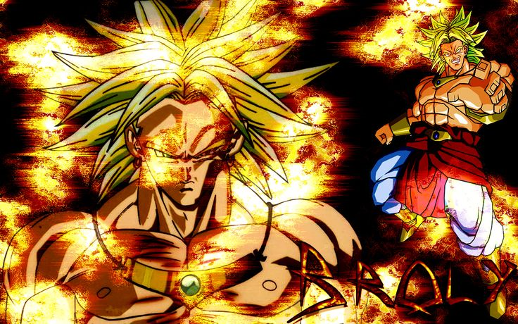 coolest dragonball  | BROLY WALLPAPERS