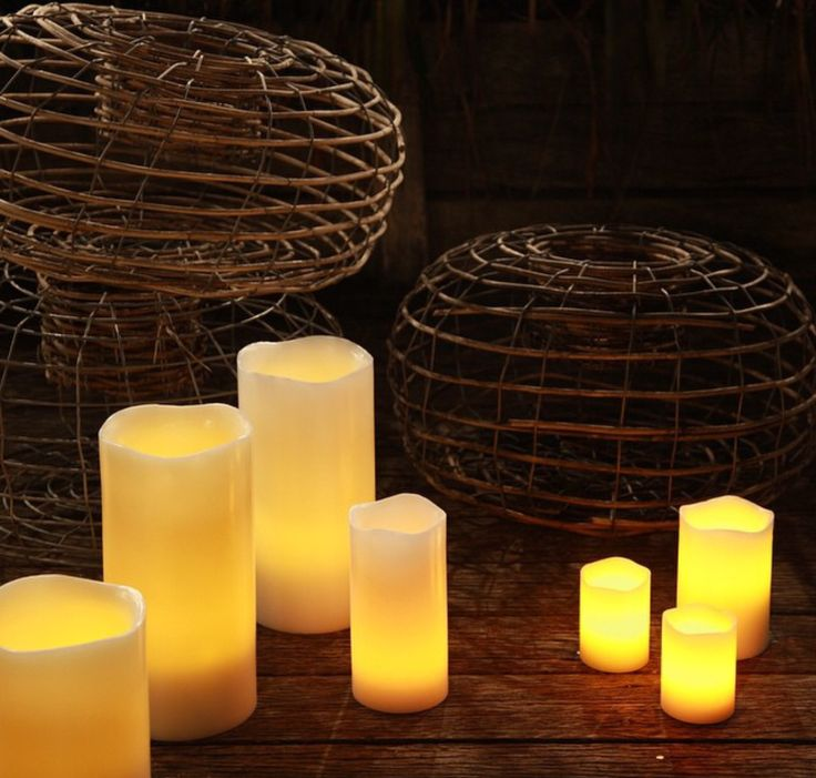 Evenings with Flameless #realsafecandles #flameless #candles #rustic #weddingideas #giftideas
