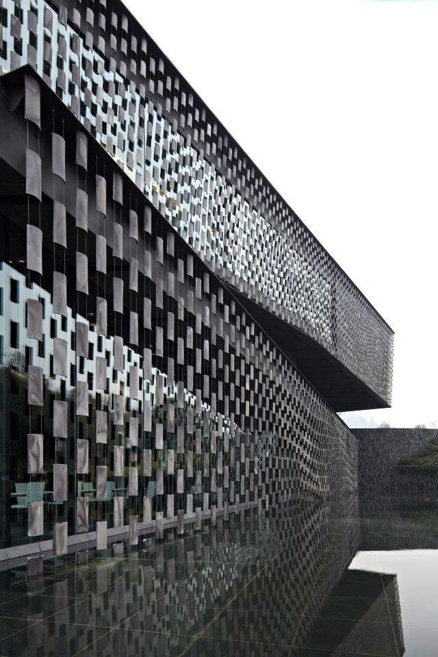 kengo kuma and associates   museum of wisdom