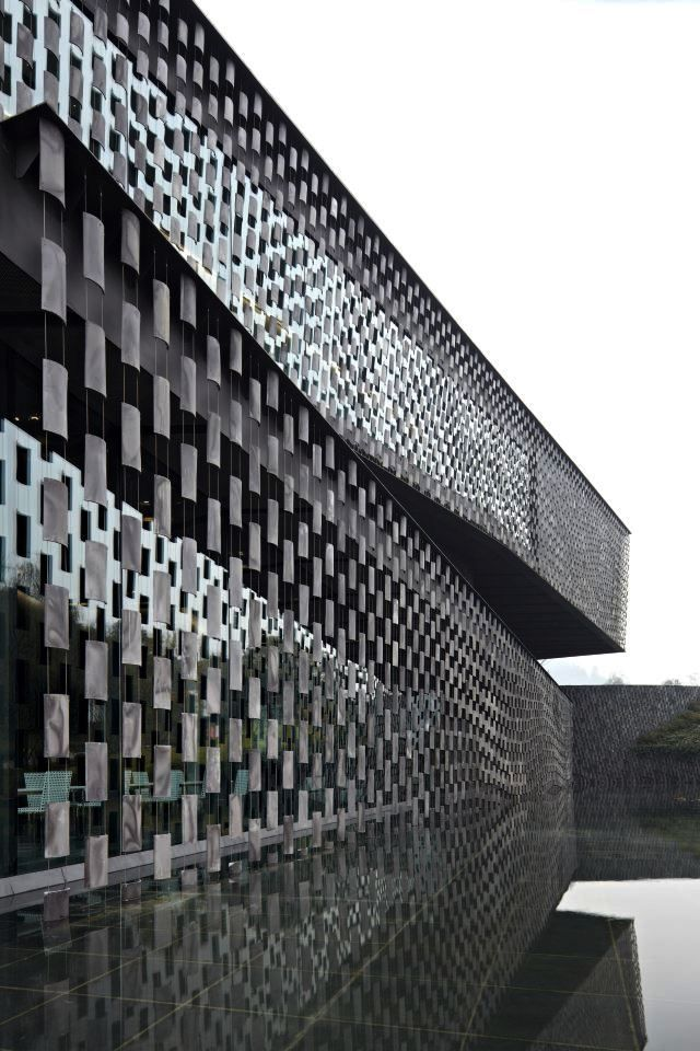 kengo kuma and associates | museum of wisdom