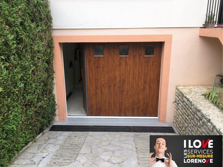 1000 ideas about porte de garage sectionnelle on - Porte de garage laterale ...