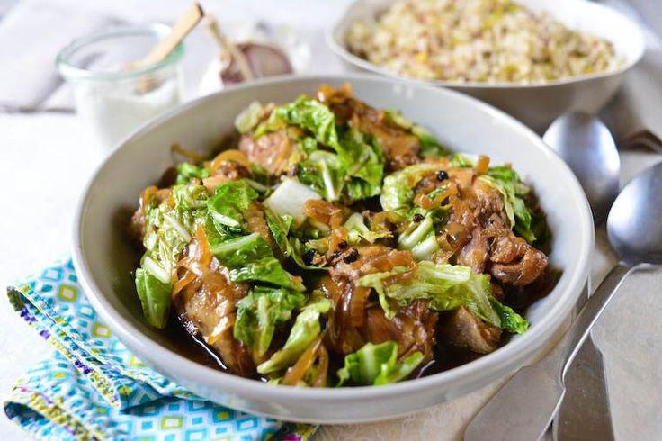 Slow Cooker Filipino Chicken Recipe on Chocolate & Zucchini