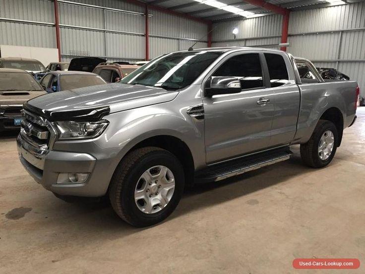 2016 Ford Ranger XLT 3.2L AUTO diesel 38km ideal export farm use damaged  drives #ford #ranger #forsale #australia