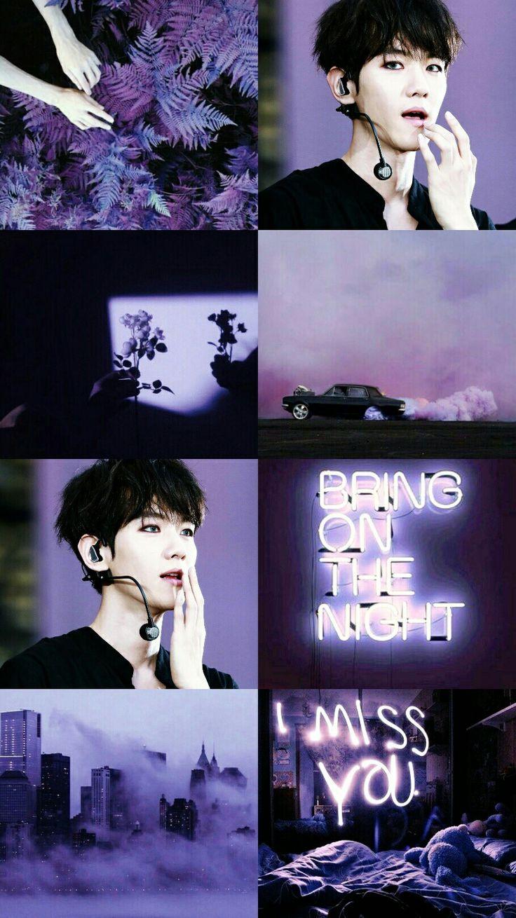 Baekhyun Exo Aesthetic Baekhyun Wallpaper Iphone Kolase