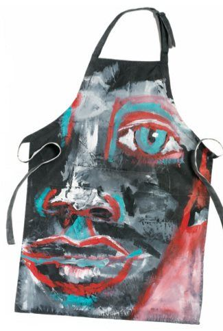 Art History Study. Each student researches famous artist and paints an apron inspired by the artist.
