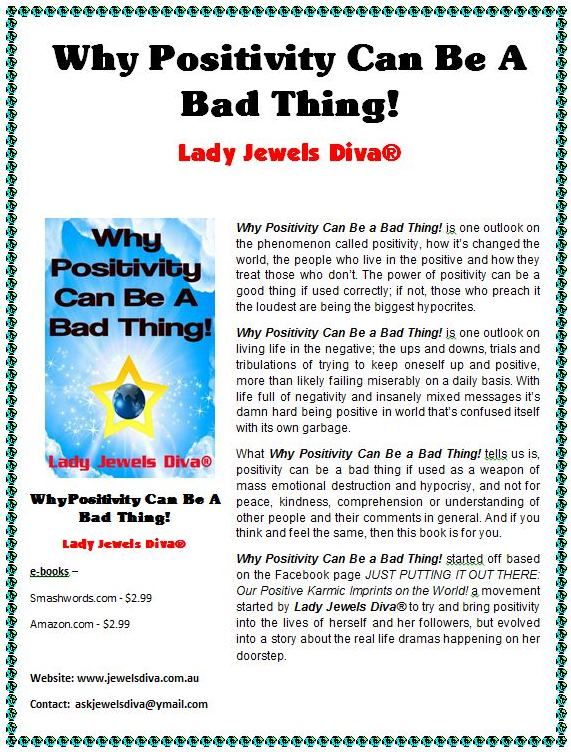 Why Positivity Can Be A Bad Thing! Synopsis