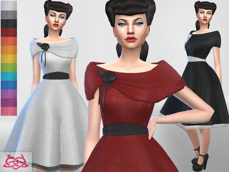 Inspired by my real creations   vintage collection Found in TSR Category  Sims  4 Female. 64 best sims 4 rockabilly pinup style images on Pinterest   Pinup