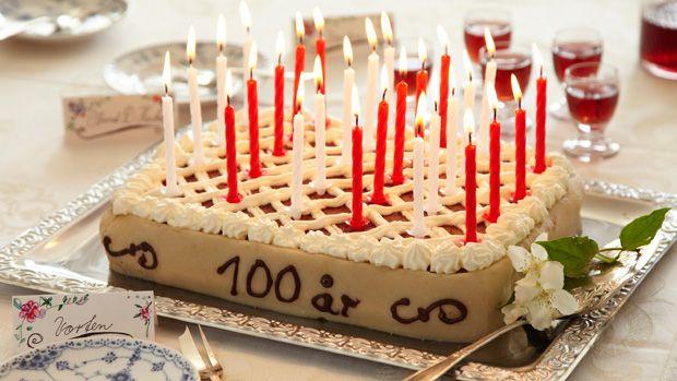 Lav selv 100-års kagen fra Matador
