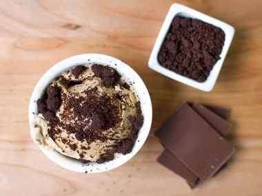 Jenis Ice Cream now sells Dessert Toppings || Click to see all {like Chocolate Blackout Gravel, Extra-Bitter Hot Fudge, & Salty Graham Gravel